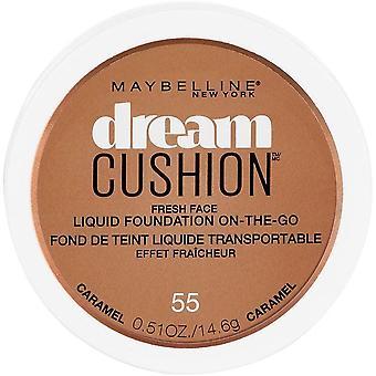 Maybelline New York Dream Cushion Fresh Face Liquid Foundation, Caramel