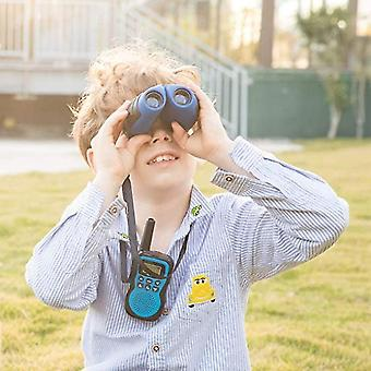 Compact Shock Proof Binoculars For Kids - Best Gifts(Blue)