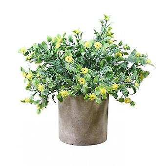 Artificial Potted Plants Plants In Pots  For Home Decor Office Desk Decoration(Style5)