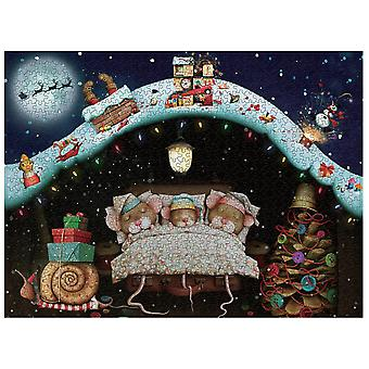 Seeunique Christmas/island/magic Academy Jigsaw Puzzles For Adults 1000 Piece Puzzle