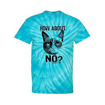 How About No? Grumpy Cat Tie-Dye Cyclone -