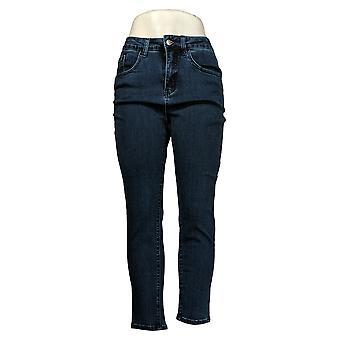 Kvinder med Control Kvinders Petite Pants My Wonder Denim Indigo Blue A378752
