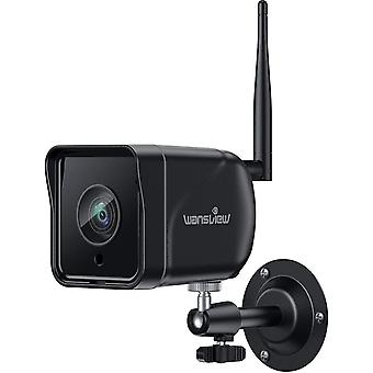 Wansview Security Camera 1080P IP66 Waterproof Outdoor WiFi Home Surveillance Camera with Motion
