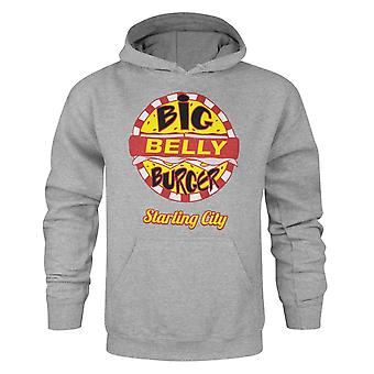 Arrow Mens Big Belly Burger Hoodie