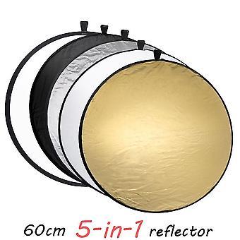 Camera Lighting Equipment Photo Disc Reflector Diffuser Kit