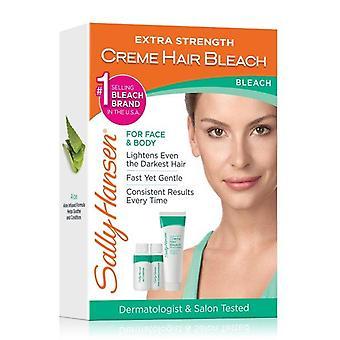 Sally Hansen Extra Strength Creme Bleach per capelli per viso e corpo Kit