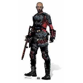 Deadshot-Suicide Squad sarjakuva taidetta pahvi automaattikatkaisin / seisoja / Stand Up