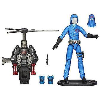 Video game consoles g.I. Joe retaliation cobra commander 9.5Cm action figure