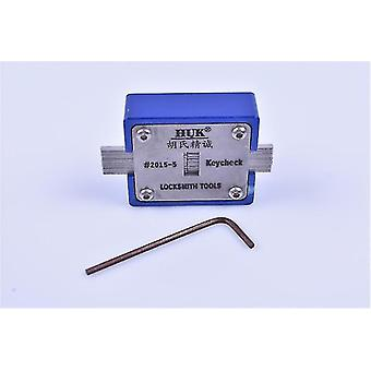 Locks latches locksmith huk key checker key slot thickness measurement instrument tool equipment lock pick set