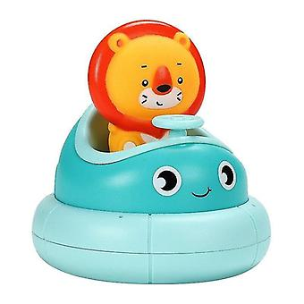 Bath toys baby bathroom electric rotating cup rabbit lion combination baby water spray bath puzzle play water