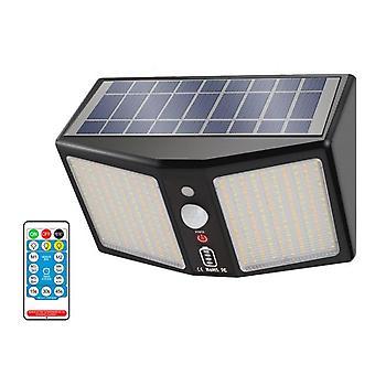 360led Solar Wall Light 12000mah 6 Model Motion Sensor Ip65 Waterproof