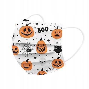 Máscara de Halloween respirável de 50pcs para adultos 2