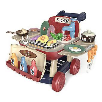 Kitchen Shopping Cart Toys Pretend Play