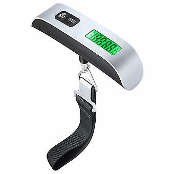 Digital Hanging Luggage Weight Scale, Stainless Steel Lcd Display