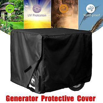 Mimigo waterdichte universele generator cover 32 x 24 x 24 inch - voor de meeste generatoren 5000-10000 Watt, zwart