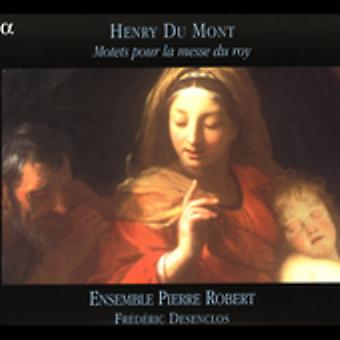 H. du Mont - Henry Du Mont: Motetten Pour La Messe Du Roy [CD] USA import