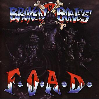 Broken Bones - F.O.a.D. [CD] USA import
