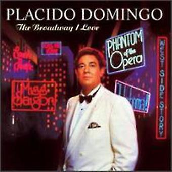 Placido Domingo - Broadway importiere ich liebe [CD] USA