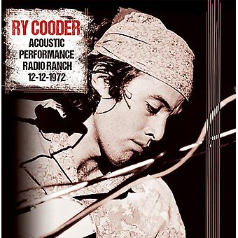 Ry Cooder - Acoustic Performance Radio Branch 12th December [CD] USA import