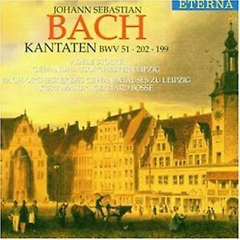 J.S. Bach - Bach: Kantaatteja Bwv 51 202 199 [CD] Yhdysvallat tuoda