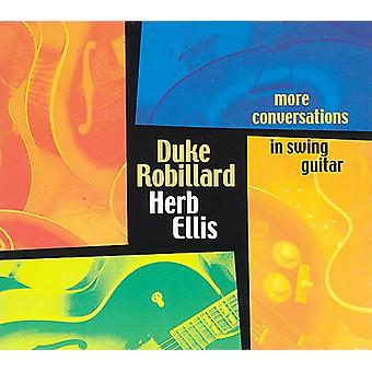 Robillard/Ellis - More Conversations in Swing Guitar [CD] USA import