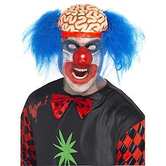 Scalped klaun parochňa mozgu parochňa horor Brain Halloween