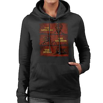 The Infected The Walking And The Biting Dead Women's Hooded Sweatshirt