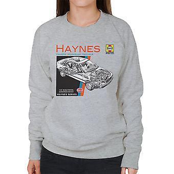 Haynes Owners Workshop Manual 1491 Audi 80 90 vrouwen Sweatshirt