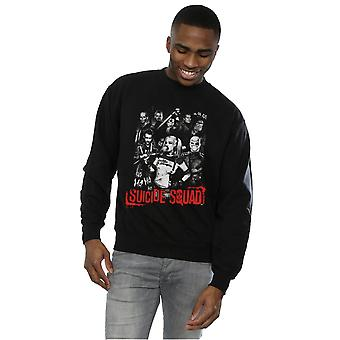 Suicide Squad mannen Harley Quinn Gang Sweatshirt