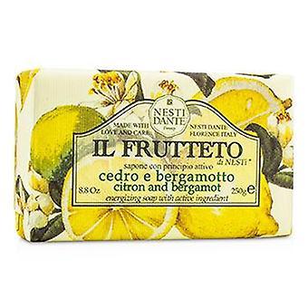 Nesti Dante Il Frutteto energizzante Soap - cedro & bergamotto - 250g / 8.8 oz