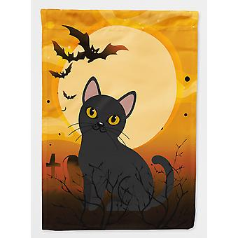 Carolines Treasures  BB4442GF Halloween Bombay Cat Flag Garden Size
