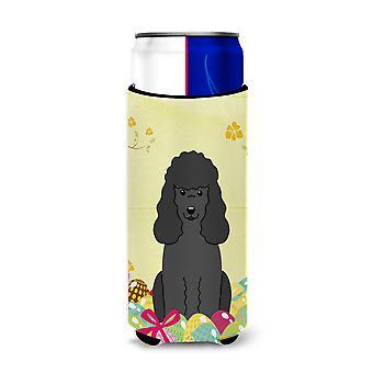 Easter Eggs Poodle Black Michelob Ultra Hugger for slim cans