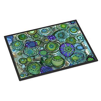 خلاصة في البلوز والخضر داخلي أو في الهواء الطلق حصيرة 24 × 36