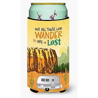 Airstream Camper Camping Wander Tall Boy Beverage Insulator Hugger