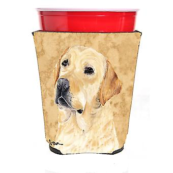 Carolines Treasures  SC9133RSC Labrador Red Solo Cup Beverage Insulator Hugger