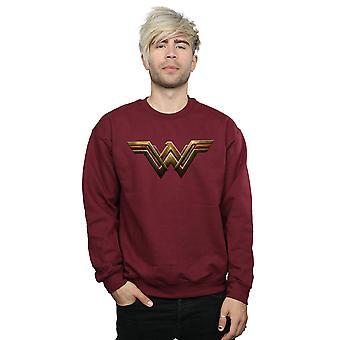 DC Comics Men's Justice League Movie Wonder Woman Emblem Sweatshirt