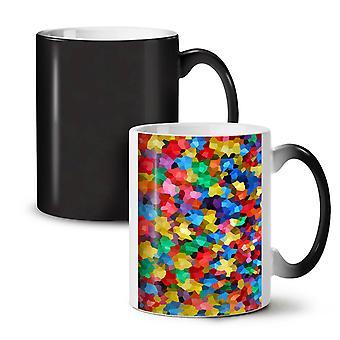 Colors Ornament NEW Black Colour Changing Tea Coffee Ceramic Mug 11 oz | Wellcoda