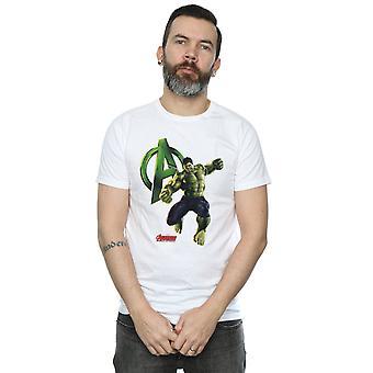 Marvel Hulk Pose T-Shirts für Herren