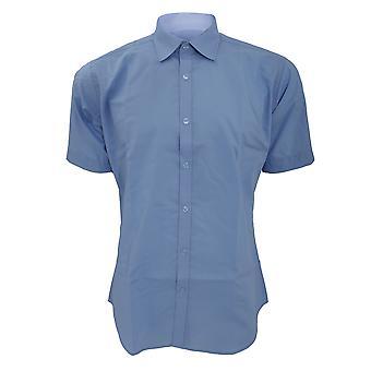 Kustom Kit Mens Slim Fit Business / Work Shirt