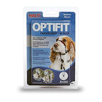 HALTI Dog OptiFit Headcollar, Medium 38-51cm