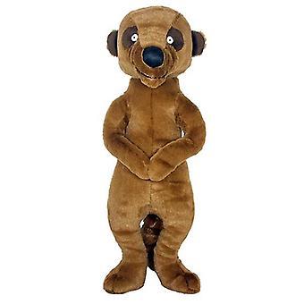 Meerkat cigolante cane giocattolo