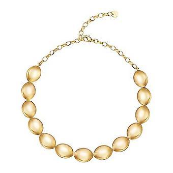 Esprit Damen Kette Edelstahl gold Prominent ESNL12950B400