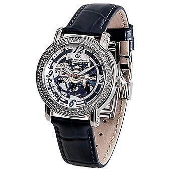 Carl of Zeyten ladies watch wrist watch automatic Wolfach CVZ0061BL