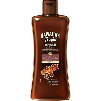 Hawaiian Tropic Solar ubeskyttet kokosolie 200 ml