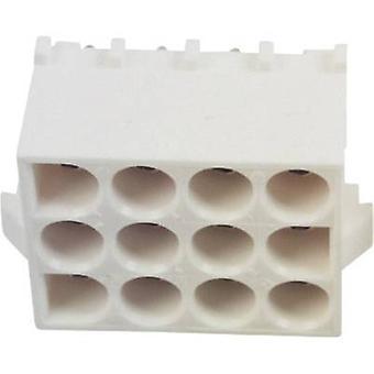 Caja de TE conectividad toma - Número Total de PCB Universal-MATE-N-LOK de pernos 12 350829 1 1 PC