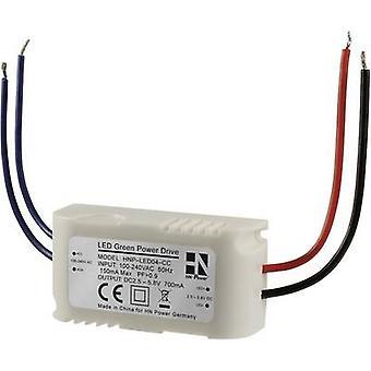 HN Power HNP-LED04-CC AC/DC PSU (print) 5.8 V DC 700 mA 4 W