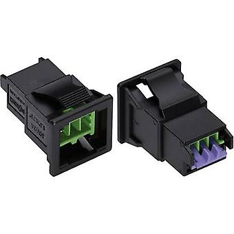 Mains connector WINSTA KNX Series (mains connectors) WINSTA KNX Plug, straight Total number of pins: 2 3 A Green WAGO 1 pc(s)