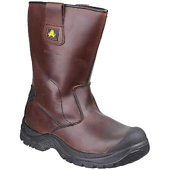 Amblers seguridad Mens & Womens AS249 impermeabilizan botas de Rigger