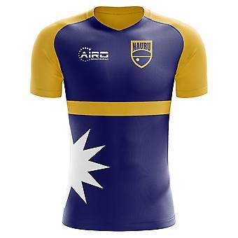 2020-2021 ナウル ホームコンセプトフットボールシャツ
