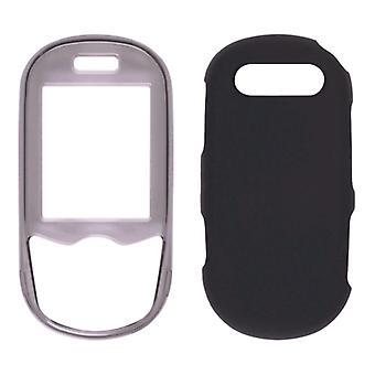 Pack 5 - Samsung T249 Snap-On affaire mixte - fumée & noir